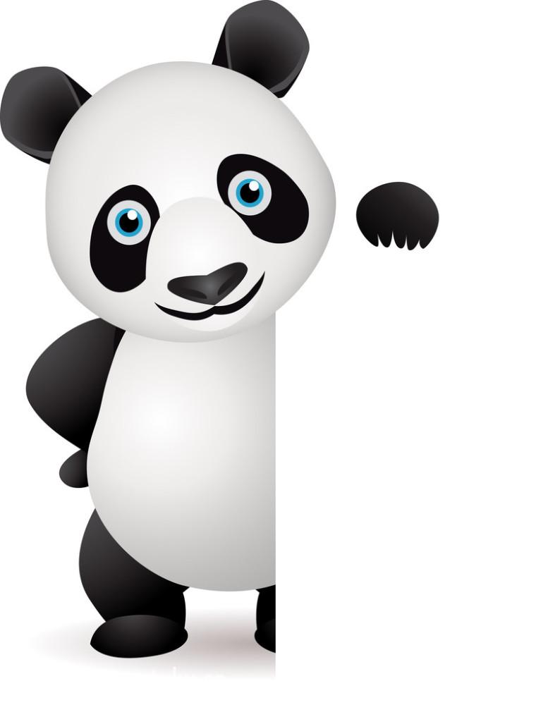 空白熊猫人表情包分享展示图片