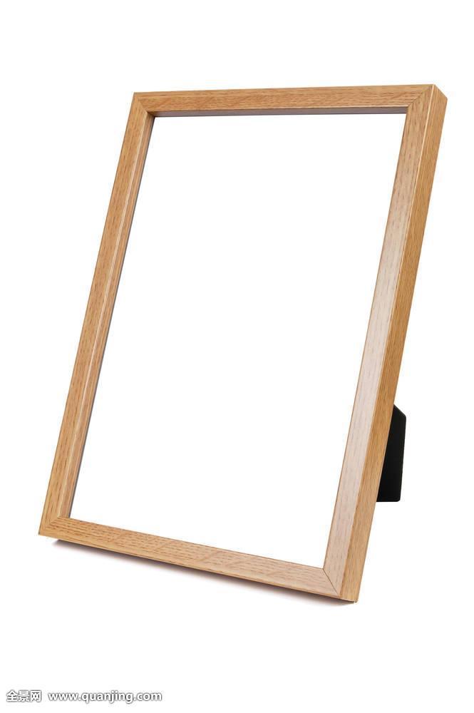 木质,空,相框,白色背景,背景图片