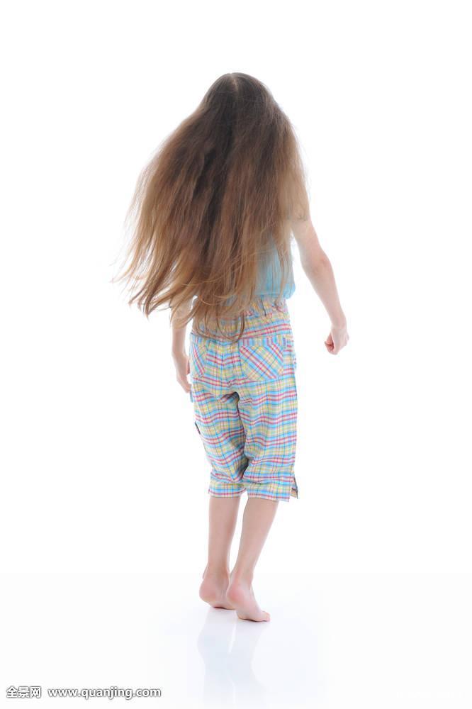 隔绝,面貌不明,头部,女人,女儿,生活方式,健康,美,五个,5-6岁,背影图片