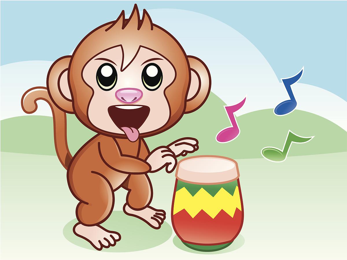 猴子跳舞动画表情图片展示图片