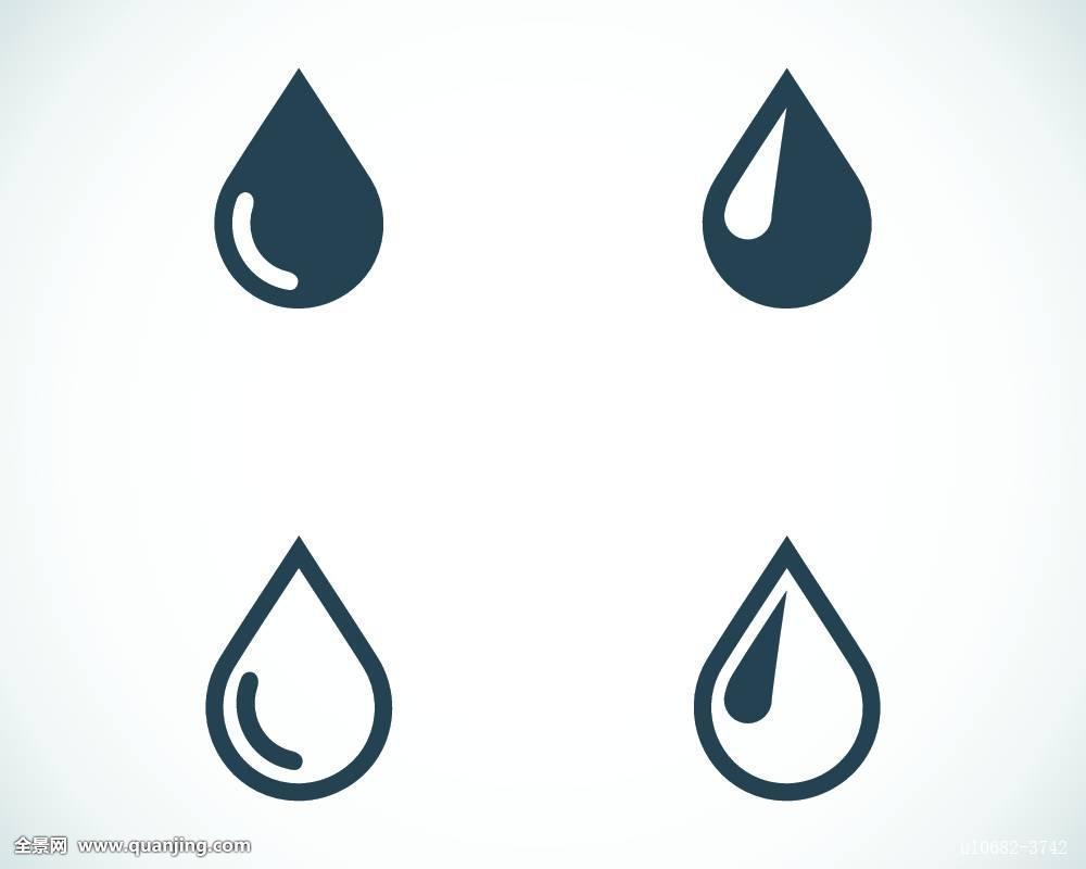 水滴创意素描图片大全-正面素描水龙头_动漫人物素描素材_创意素描图片