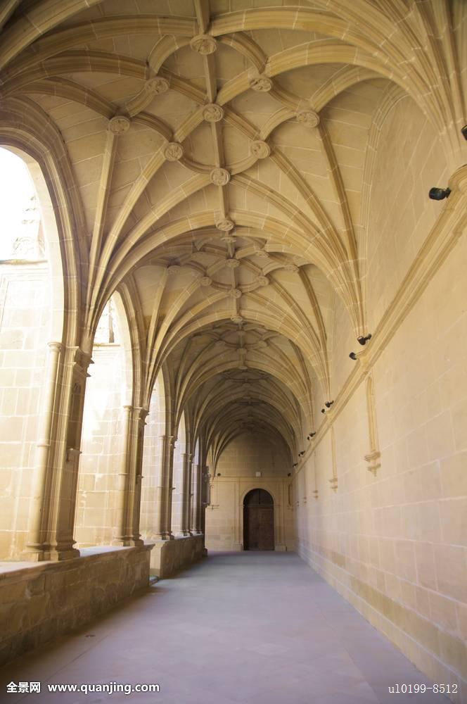 柱子,走廊,遮盖,穹顶,门,欧洲,大厅,孤单,寺院,纪念建筑,赭色,老,宫殿图片
