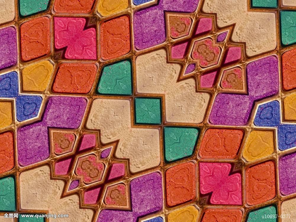 大班美术几何图形拼贴画反思分享展示图片