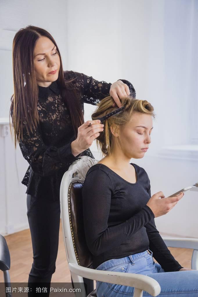 发型师艺术花臂分享展示图片