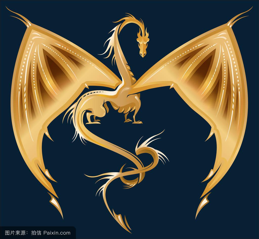 龙的程式形象图片