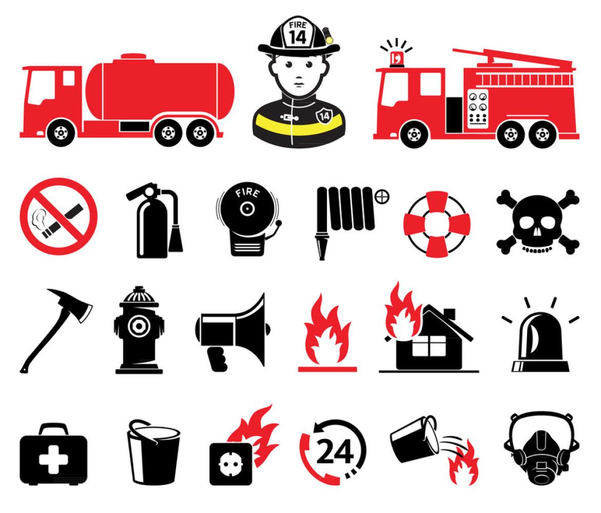 """1、""""消防栓、灭火器""""可以根据 如何在cad里画喷淋和烟感的图标"""