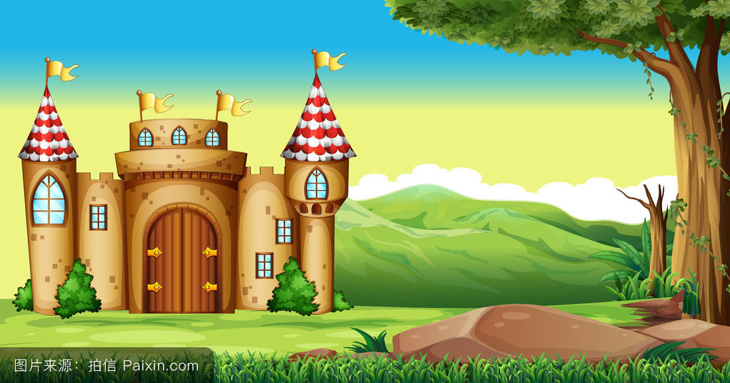 天空,景观,王国,自然,建筑学,幻想,外部,图解的,树,风景,山,照片图片