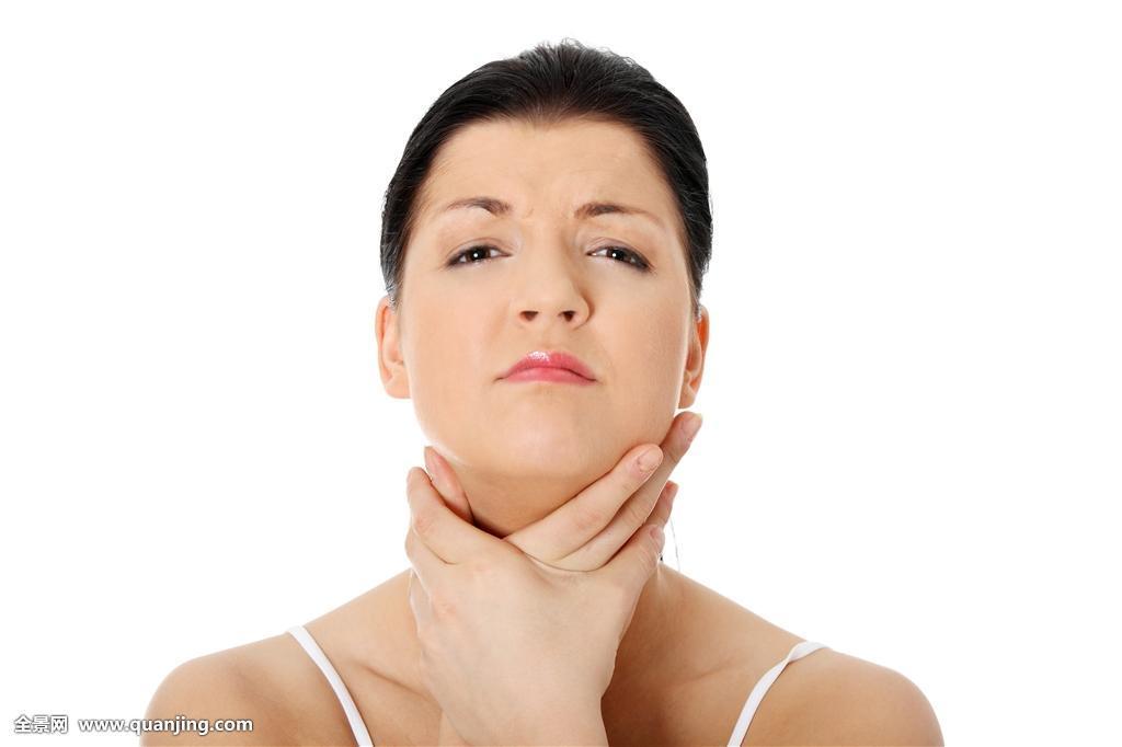 女人人手美女漂亮健康隔绝医疗女士女冬天脸头像留白