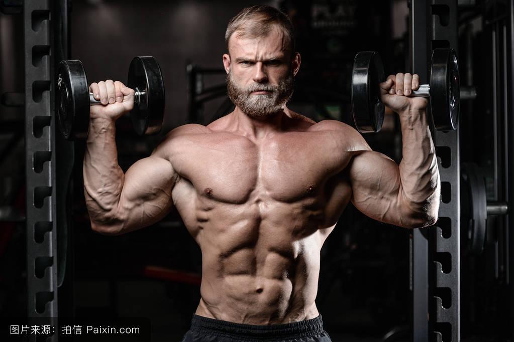 男人腰肺&f��yf�x�_腰,肌肉,交叉,英俊的,皮肤,适合,权力,男人,包,腹部,胃,腰围,健美运动