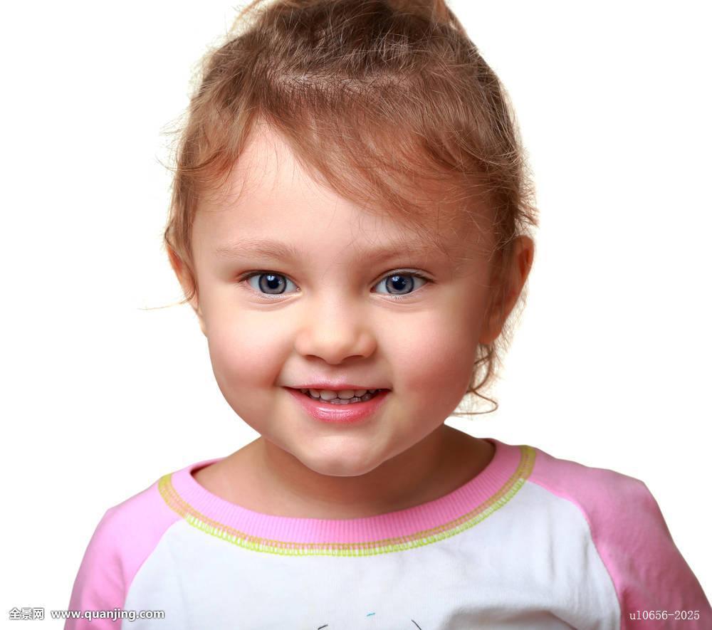 愉悦,高兴,头像,白人,脸,小,有趣,女孩,美女,一个,微笑,隔绝,表情,学图片