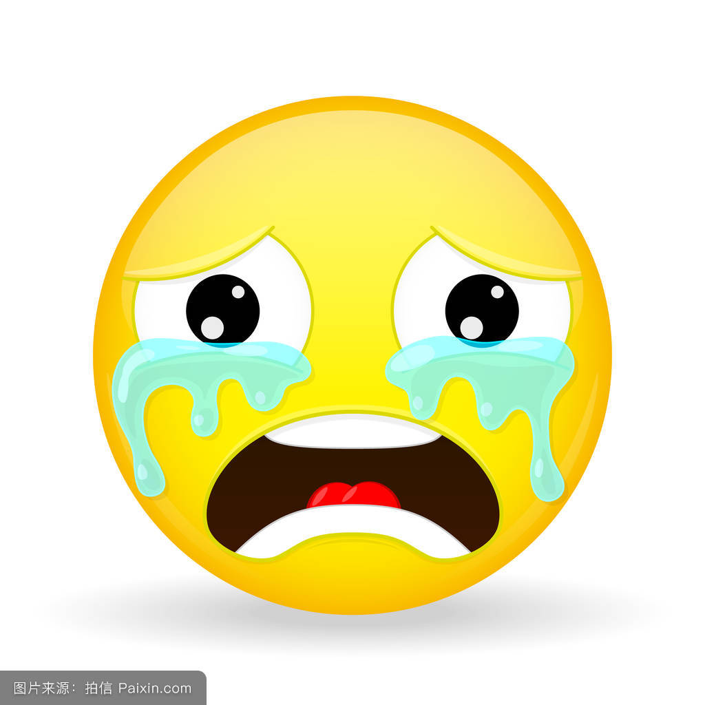 表情符号,悲伤,面对,不快乐的,哀叹,撕裂,矢量,笑脸,感觉,分离,后悔图片