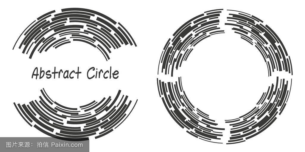 环�9c.��fz���d_行,螺旋形的,径向的,线,曲线,概念,矢量,商业,圈子,图解的,环,混乱