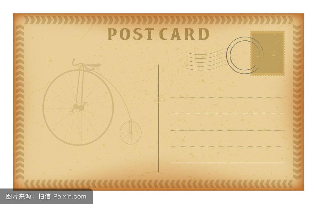纹理,穿坏的,肮脏的,棕色的,自行车,乌贼,怀旧,垃圾,明信片,米色图片