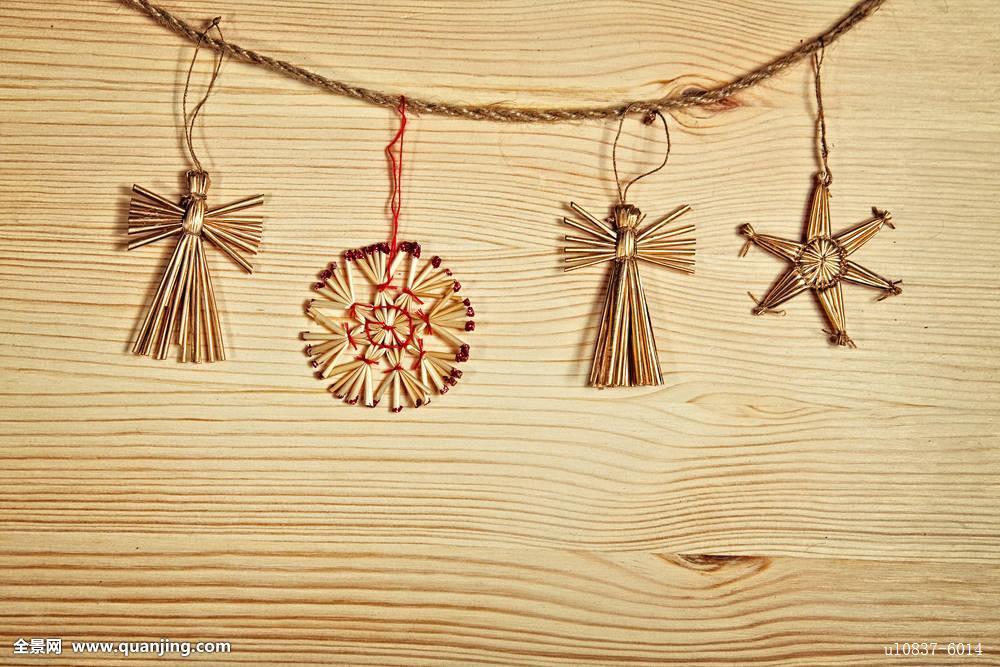 圣诞装饰,木板图片
