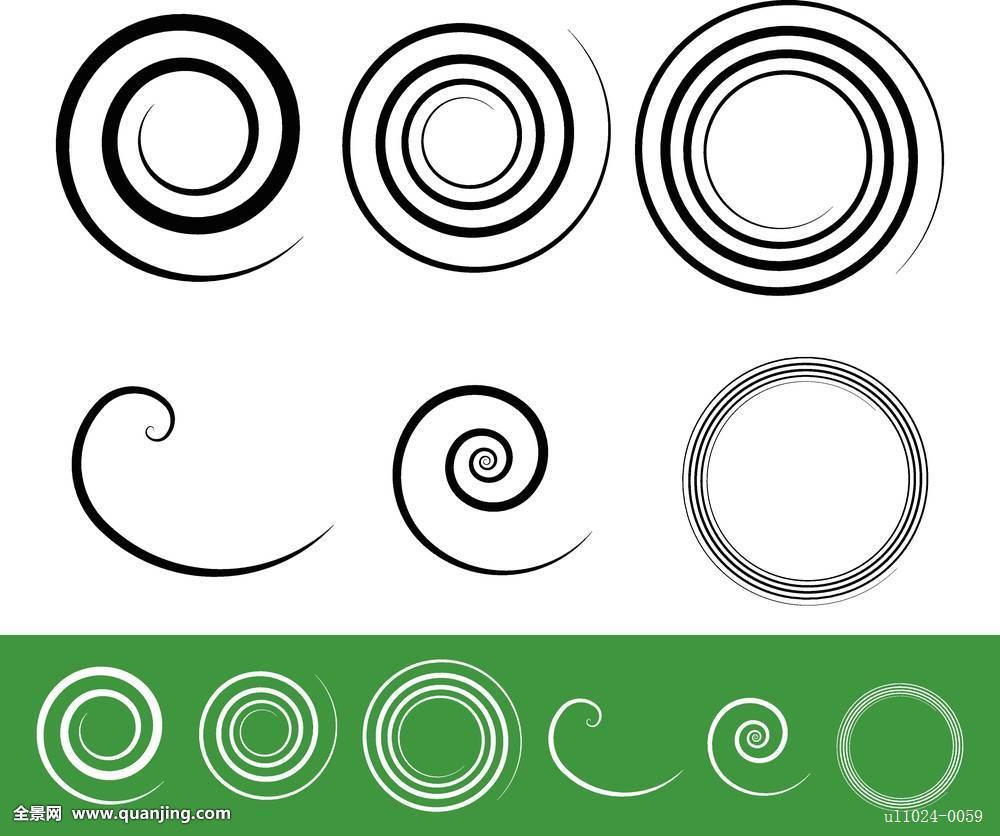 环�9c.��fz���d_螺旋,卷须,环,扭曲,旋转,形状,收集,艺术,华丽,抽象,中心,离心机,圆