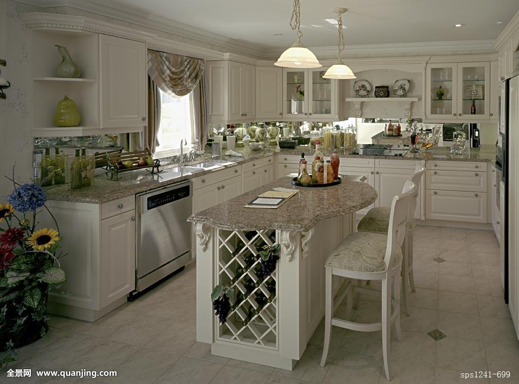 家,横图,住宅,建筑,房子,厨房,柜子,房间,台案,邀请,室内,器具图片