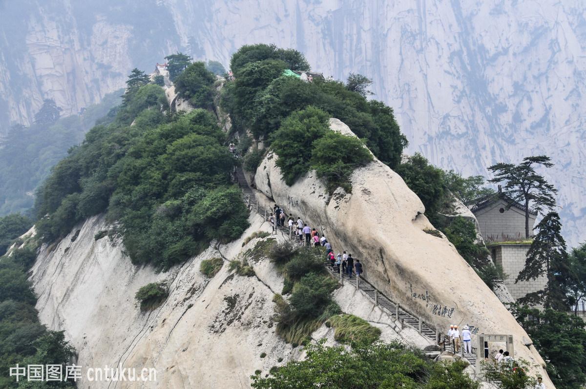 西安华山风光图片