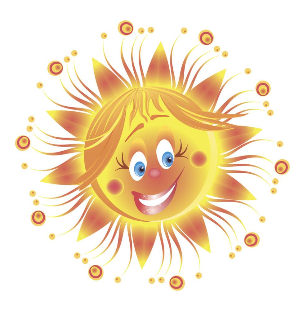 微笑符号面矢量-快乐阳光的表情图片