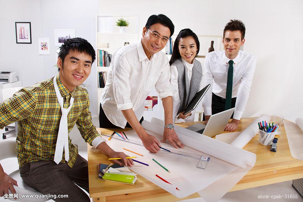 笔,概念,环境,服务,设计师,中国,幸福,四个人,合作,时尚,忙碌,办公室图片
