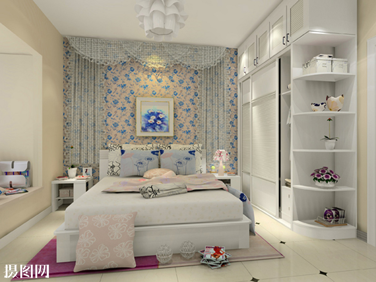 1平米卧室装修效果图 真实3平米小卧室装修图 5平米