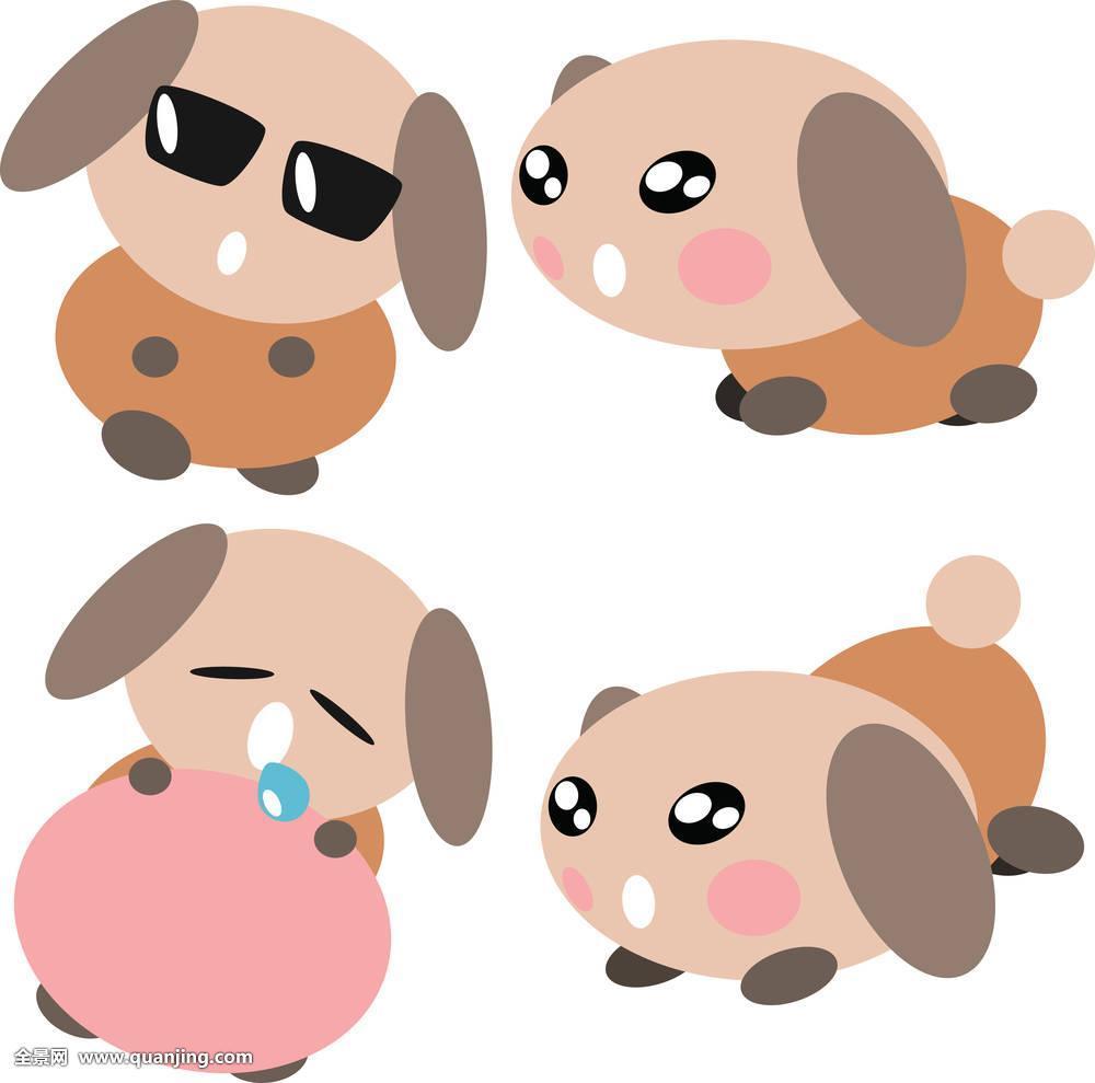 小�y..�h�9h�z/�y�a�f�x�_动物,艺术,褐色,卡通,可爱,狗,有趣,插画,隔绝,小,宠物,小狗