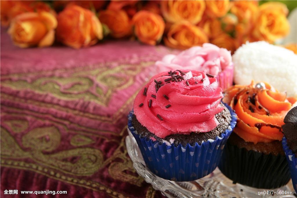 橙色,糖果,想像,枕头,彩色,情人节,粗厚,宽,杯形蛋糕,背景,红色,刺绣图片
