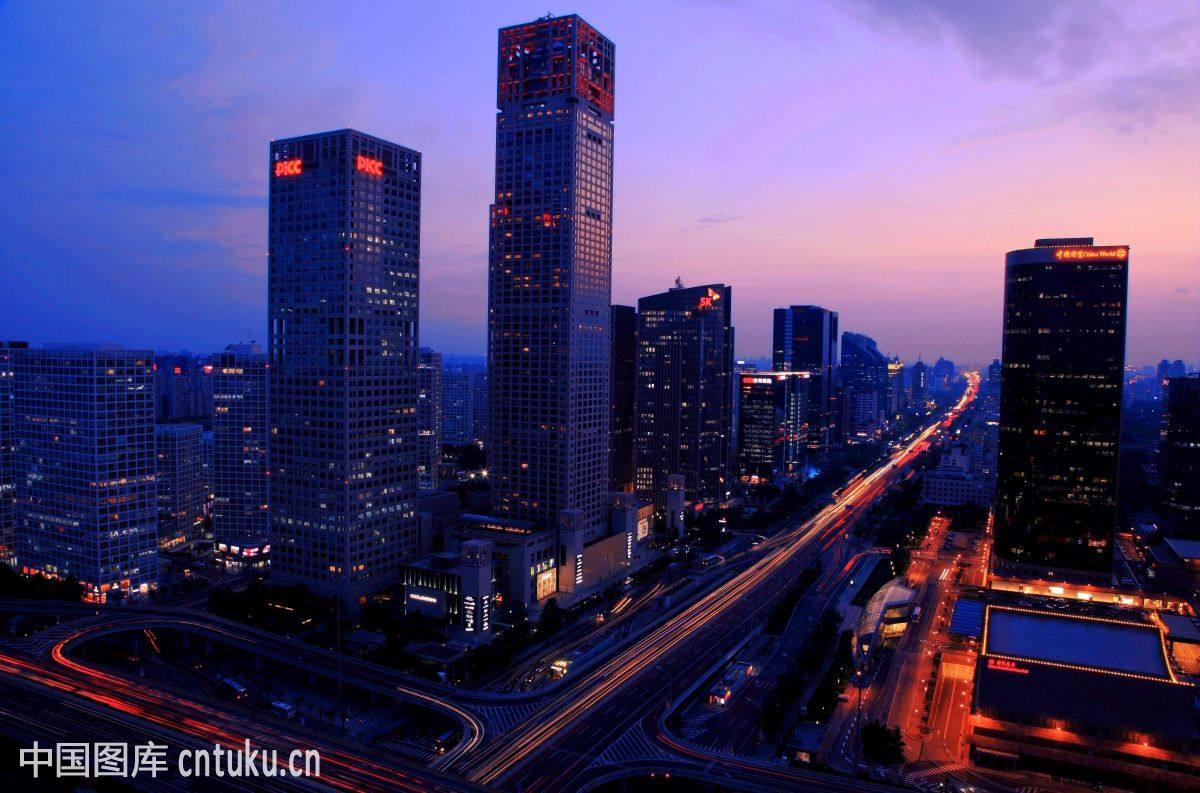 北京乹a`�ad�n�_北京cbd风光
