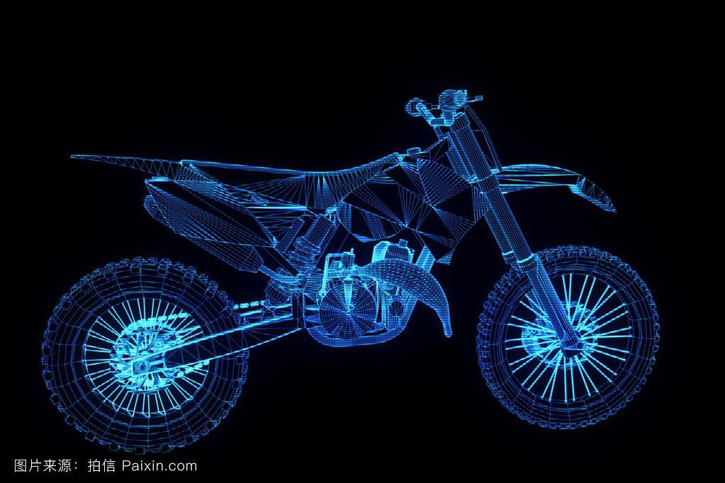 影响,特殊的,电线,快速的,时尚的,自行车,线,奖杯,全息图,覆盖,凉爽图片