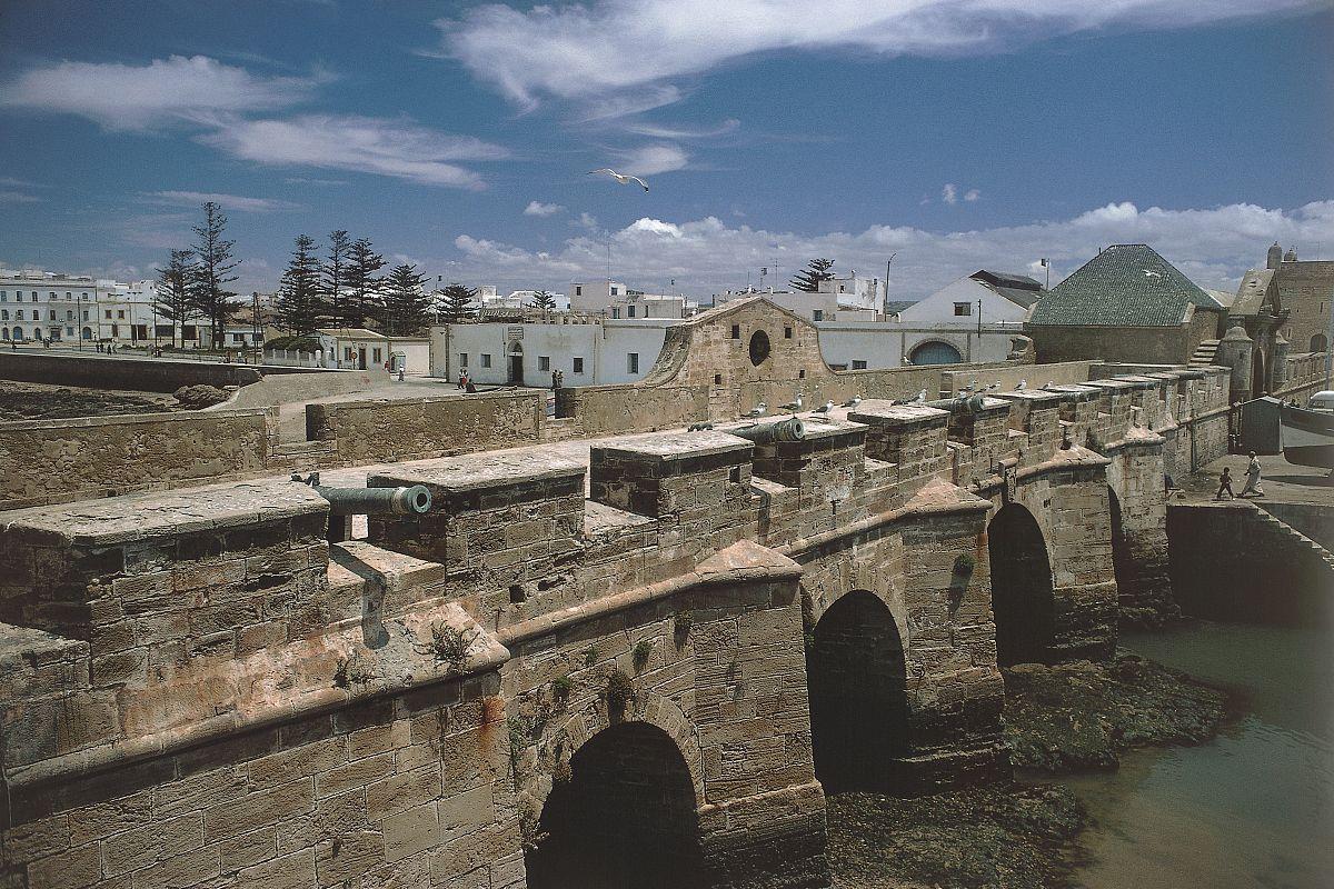 一个堡垒索维拉高角度来看摩洛哥