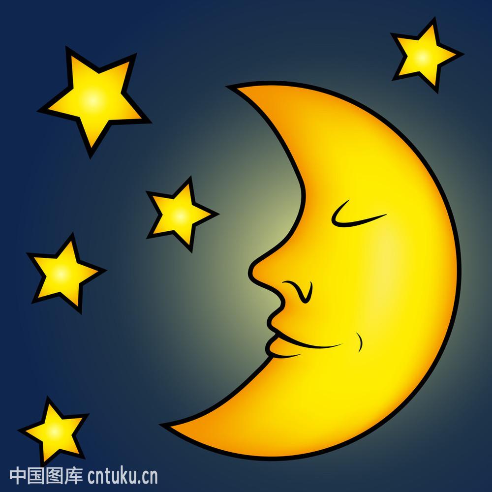 卡通月亮图片大全可爱-美丽的月亮的图片大全-月亮的图片唯美图片