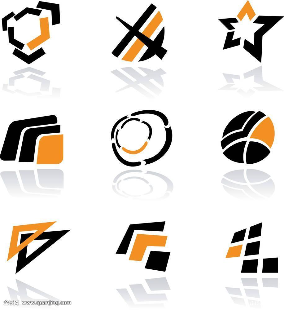 抽象,旗帜,黑色,商标,商务,圆,收集,创意,立方体,弯曲,装饰,设计图片