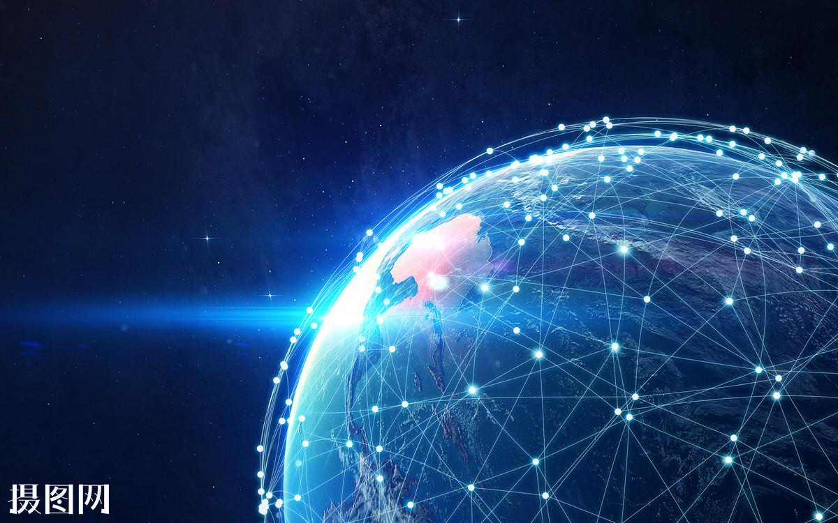 全球哈���d_网络的地球