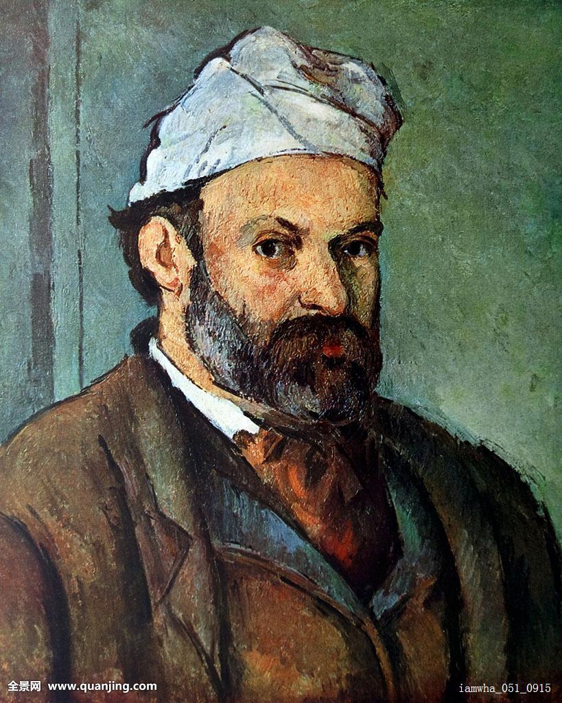 自拍,头像,法国,艺术家,油漆工,印象派,19世纪,画家图片