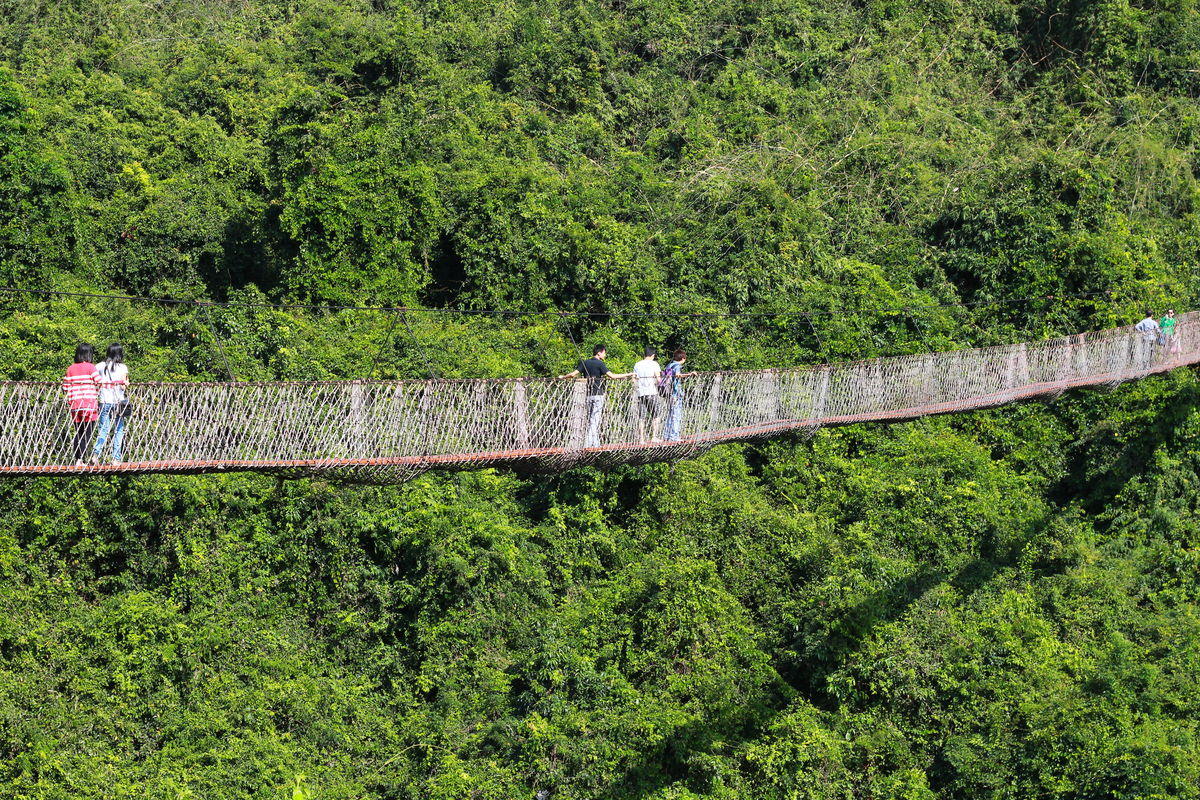 三亚天堂森林公园攻略分享展示图片