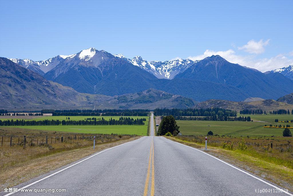 路_白天,道路,无人,乡村,户外,柏油路,自然,风景