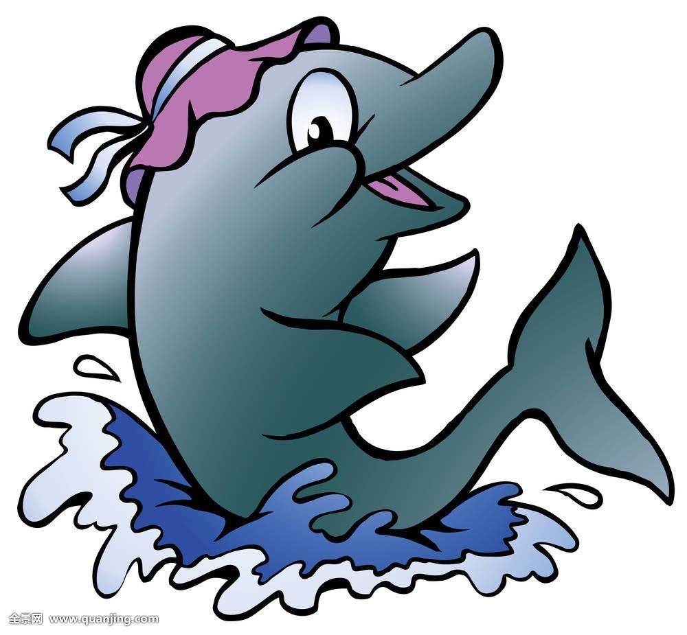 海豚,玩,深海图片
