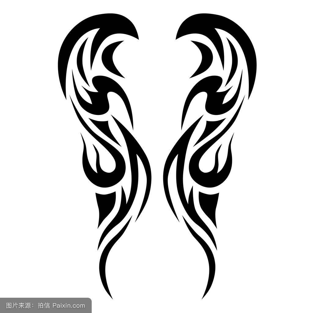 魔鬼包图案纹身小臂展示交税建筑设计v魔鬼分享图片