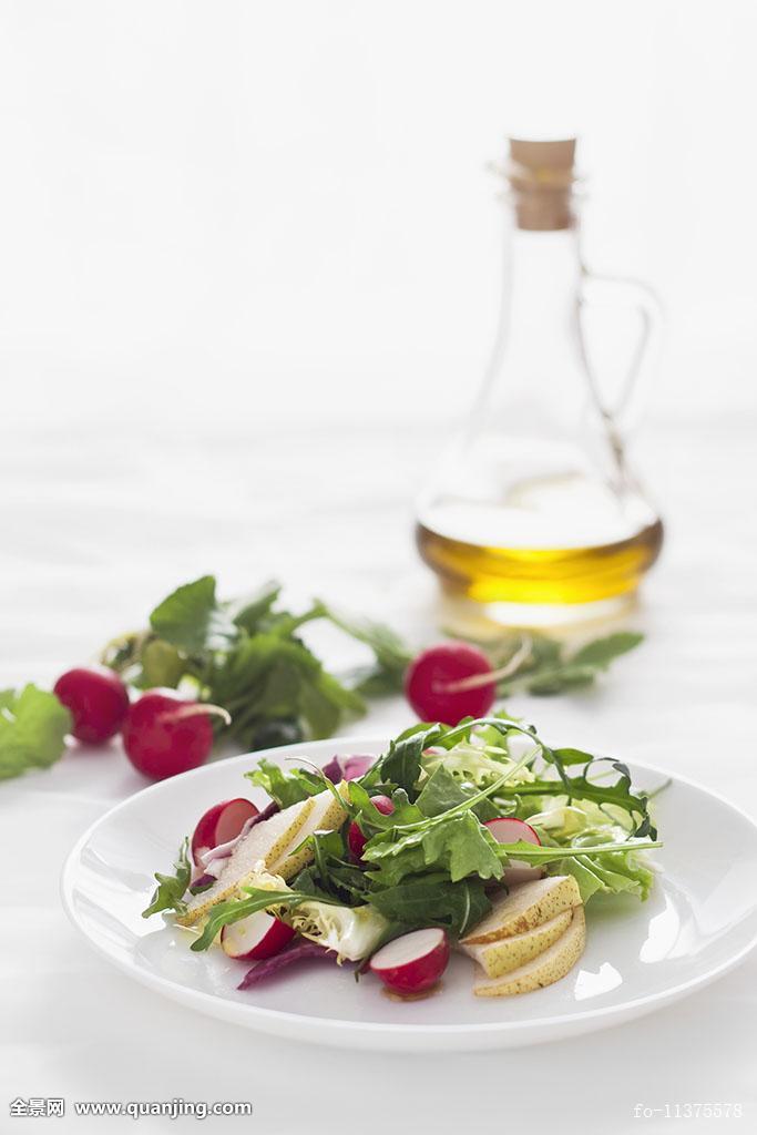 聚焦,纤细,塑身,瘦,春天,如春,棚拍,夏天,蔬菜,素菜,菜肴,蔬菜沙拉图片