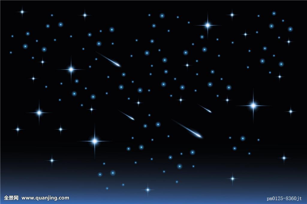月亮星星图片_夜空星星图片_夜空星星图片真实照片_夜空中的星星图片图片