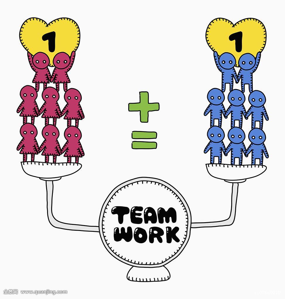 团队,合作,伙伴,概念,堆积,金字塔,秤,心形,数字,增加图片