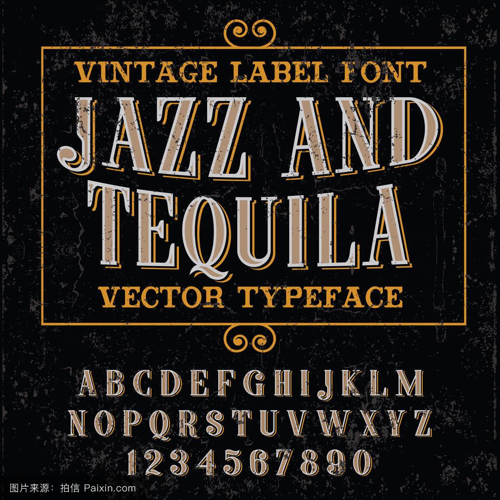 龙舌兰酒,文本,刷,abc,签名,设计,书法,爵士乐,刻字,墨水,矢量,黑板图片