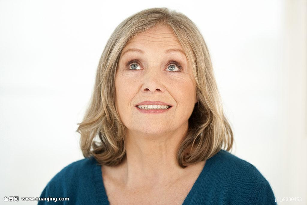 白发妇女老人发型分享展示图片图片