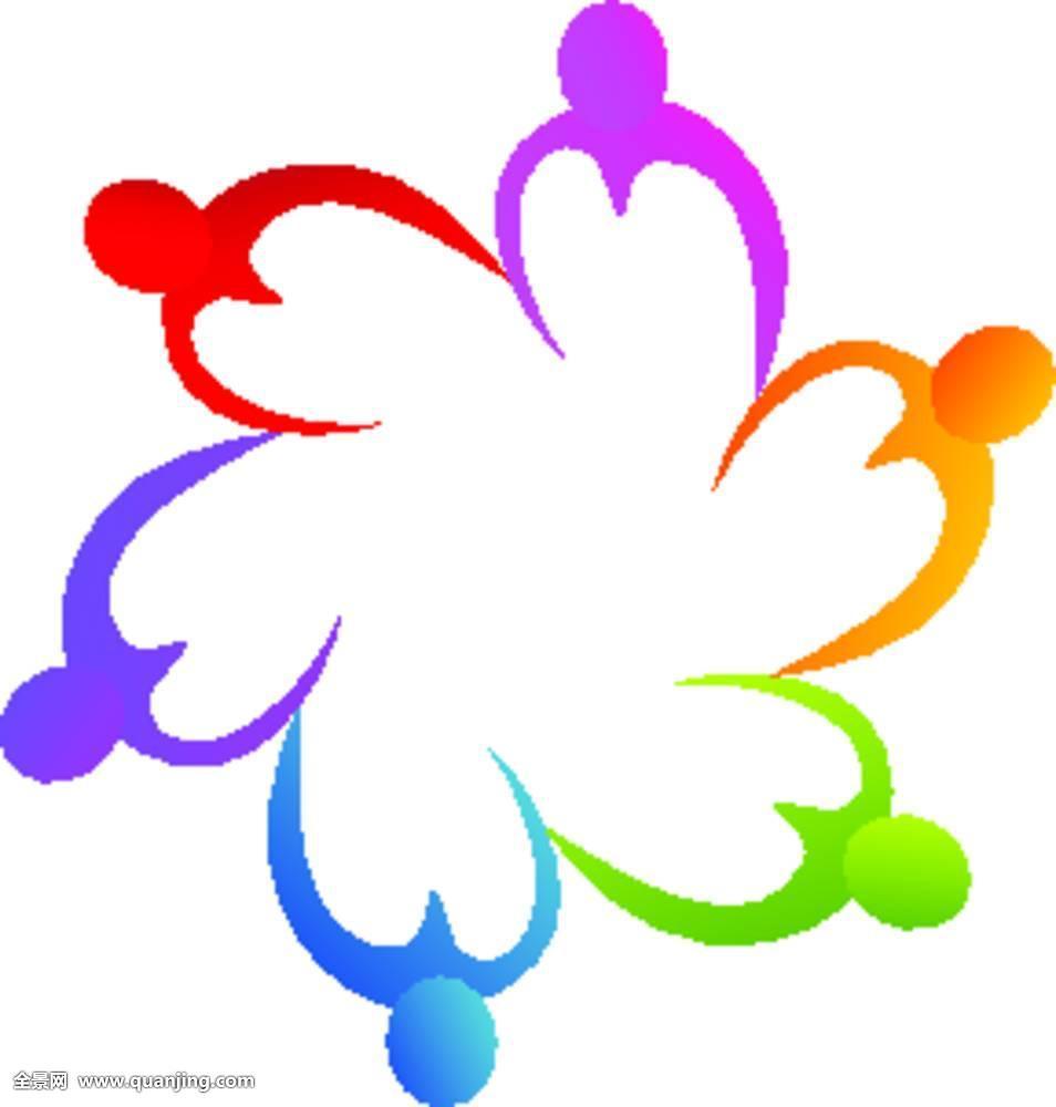 标识,团队,抽象,心形,联合,背景,商务,彩色,帮助,公司,拿着,概念图片