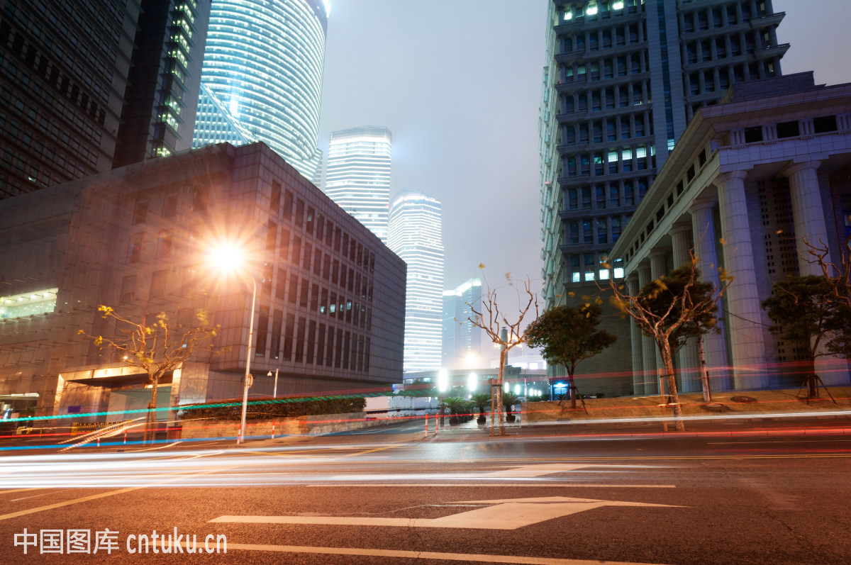 shanghailujiazuifinance&tradezonemoderncitynight