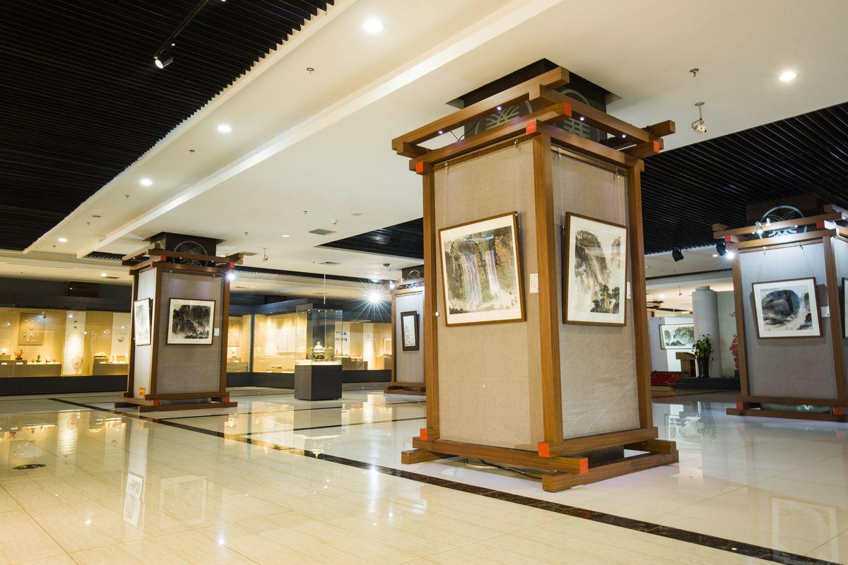 书画展厅,书画展览馆,画廊,美术馆,展览馆,展示厅,绘画展,展厅设计图片
