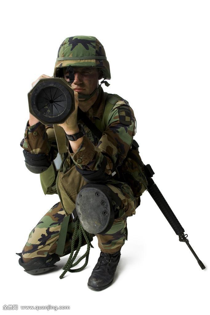 军人立定_军人,瞄准,武器
