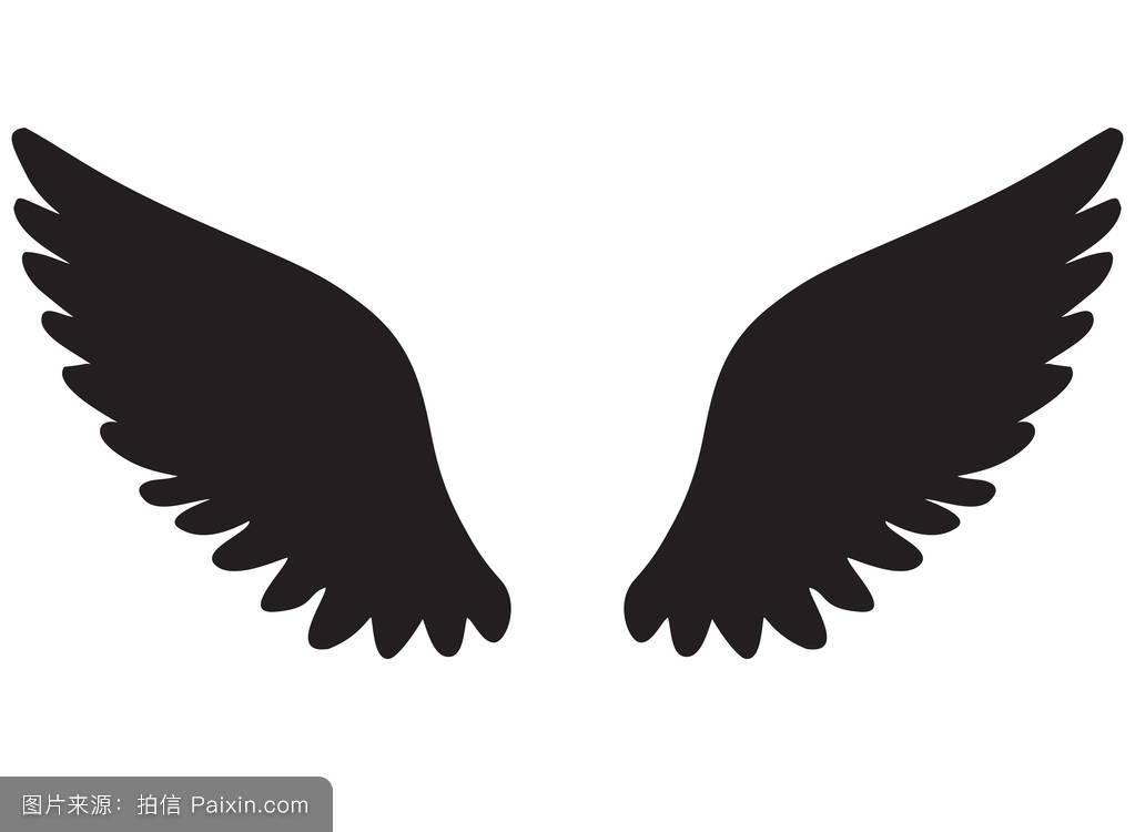 偶像,象征,自由,要素,标签,哥特式,素描,动物,鹰,羽毛,插图,装饰,纹身图片