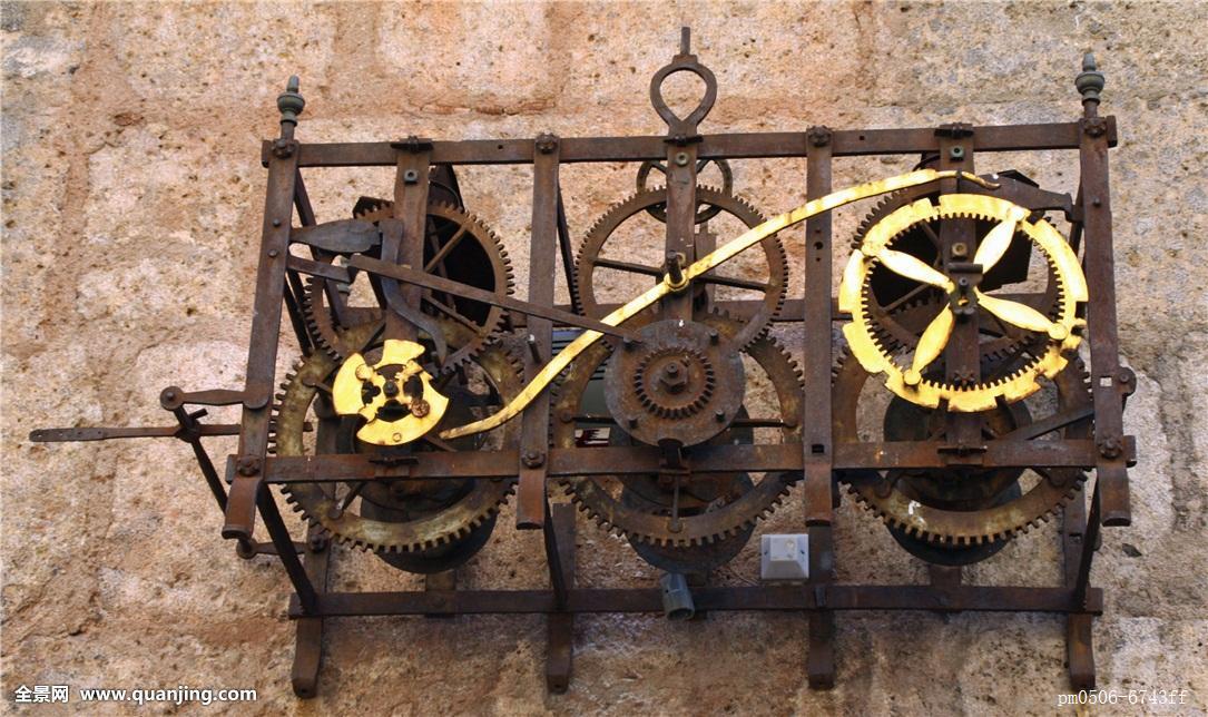 机械�9b�9�^�� _钟表,指示,时间,钟表机械,挂钟,五个,黑色,测量,尖顶,钟点,分钟,白天