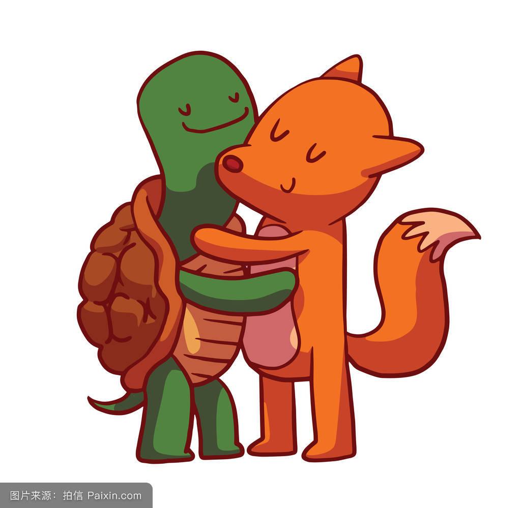 用狐狸和乌龟编写一则寓言故事100字