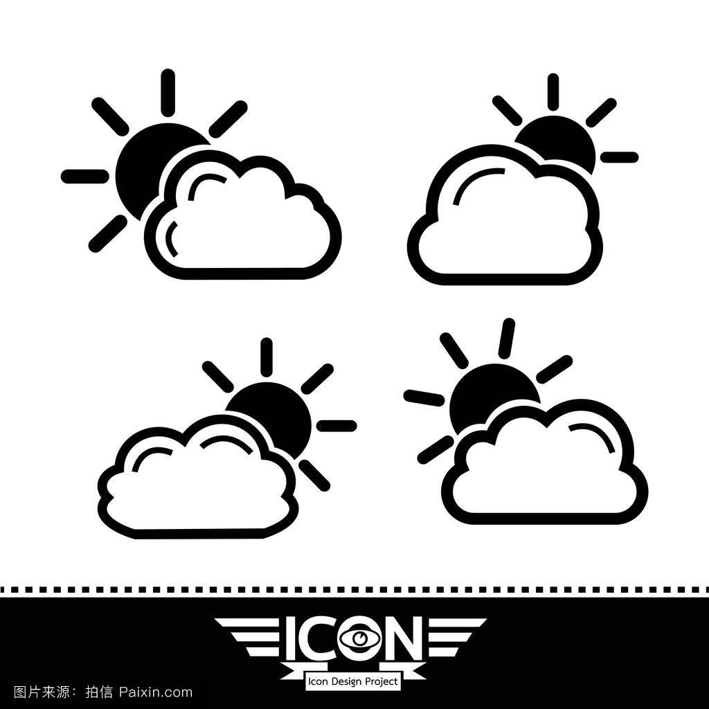 下列天气符号表示的天气,对交通最不利的是 A.AB.BC.CD.